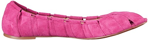 Nine West Munchkin Suede Ballet Flat Medium Pink Suede
