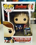 Funko - Figurine Marvel - Avengers Age of Ultron Captain America Unmasked SDCC Summer Convention Pop 10cm - (Of Captain Kostüm America Ultron Age)