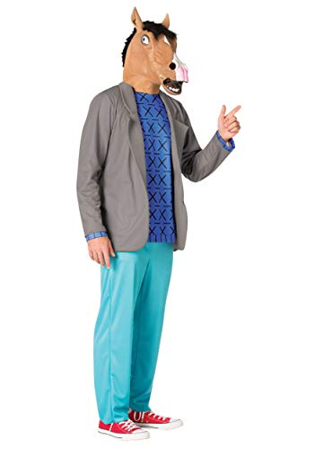 Men's BoJack Horseman Fancy Dress Costume (Rasta Man Kostüme)