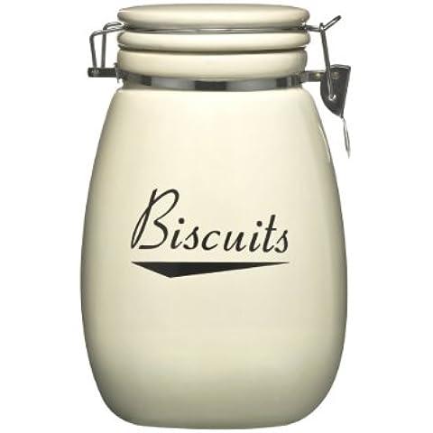 Awesome Coronet Barattolo per biscotti in ceramica con eleganti con coperchio a Clip Kilner