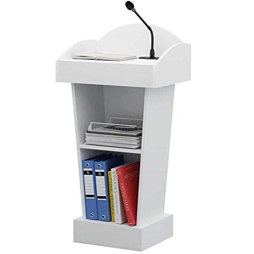 Stand Up Leggio,Podio Improvvisato Workstation Supporto per Computer Portatile Notebook per La Scuola L'azienda Sala Riunioni