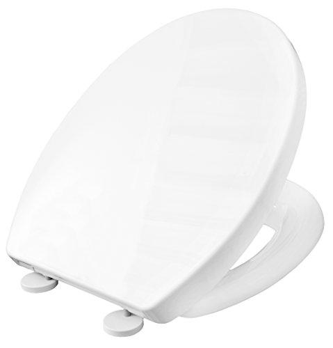 Cornat WC-Sitz NEDA weiß / Toilettensitz / Toilettendeckel / Klodeckel / WC-Deckel / Absenkautomatik / Thermoplast / KSNESC00