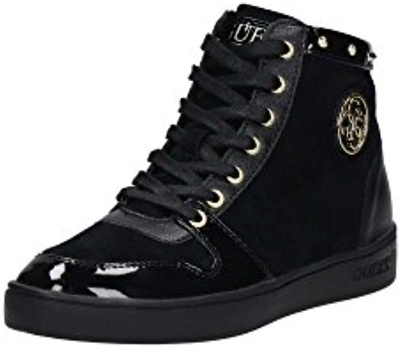 Guess Flgen3 Sue12 Zapatillas Mujer Negro, Talla 37