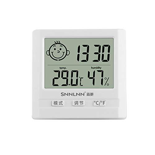 Termómetro Electrónico Higrómetro Hogar Interior Precisión Bebé Habitación Húmedo Y Seco Medidor...