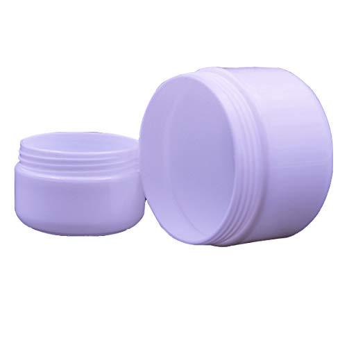 ECYC Gesichtscreme Reisekosmetikbehälter, Multifunktions-Plastik-leere Make-upflaschen Containe, 250g