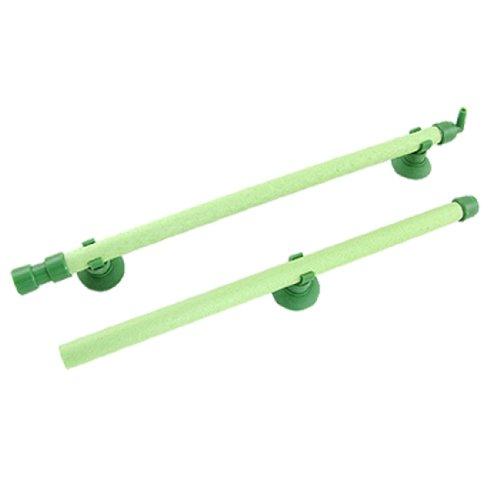 sourcingmap 18' verde tubo areatore pietre d'aria parete bolla per acquario