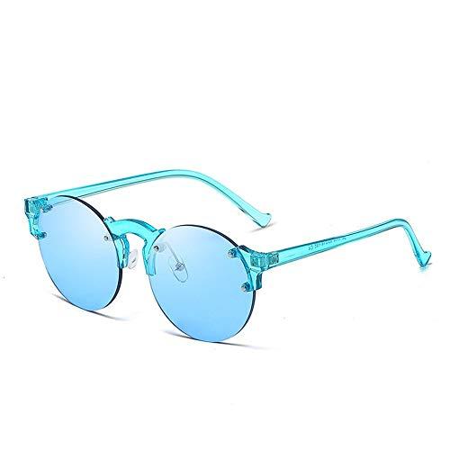 Top Shishang Sonnenbrillen, bonbonfarbene Sonnenbrillen, modische Hipster-Brillen, Marine-Filme, Sonnenbrillen-Sonnenbrillen-Mann-Mann-Frauen-weibliche Sonnenbrillen Klassische Sonnenbrillen, blau