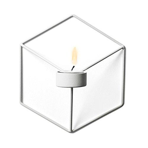 Wand Hängende Kerzen (lzn Teelichthalter hängend Kerzenleuchter Nordic Style Wand Kerze Regal 3D Geometrische Eisen Metall Wandleuchter Leuchter)