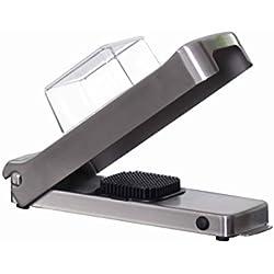Alligator 1092 - Mini tagliaverdure in acciaio inox, professionale da cucina per tagliare dadini e striscioline sottili