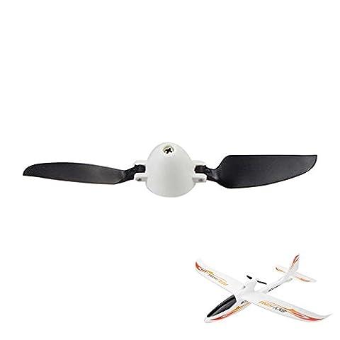 Original Propeller für RC Modell-Flugzeug WLToys F959 Sky King Segelflugzeug Glider Ersatzteil für Flieger, Neu