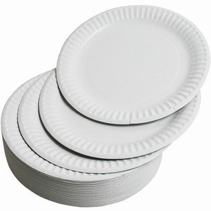 Paper Plates (Large - by Jena