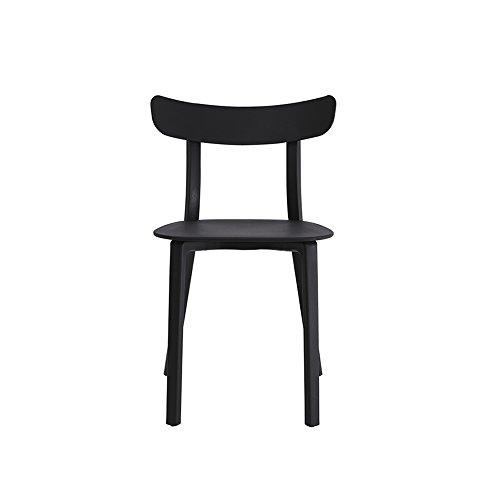 KFXL yizi chaise Loisirs tables et chaises de café Chaise à manger 4 couleurs disponibles 50 * 80cm (Couleur : A)