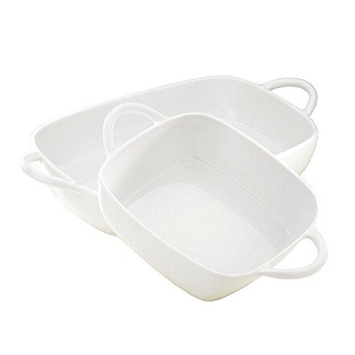 Pillivuyt Eden Lasagne Baker Rectangular, 14.75 x 9.75 Inches, 4.5 Quart Capacity by Pillivuyt Lasagne Baker