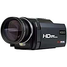 MARVUE Videocamera Full HD 1080p @30fps 24.0 Megapixel 16X Digitale Zoom 3 Pollici Touch Screen Portable Digitale Video