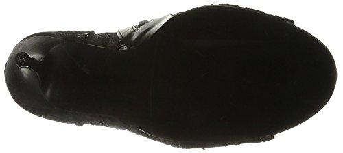 FABULICIOUS Amuse-56, Stivali Donna Noir (Black Lace-Mesh)
