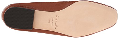Bettye Muller Valet Rund Leder Slipper Whiskey
