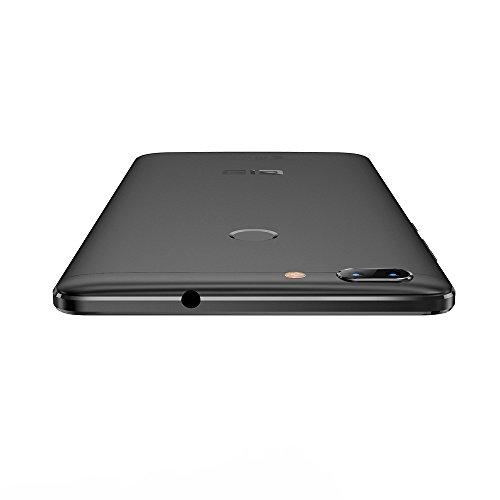 Elephone C1 Max Smartphone 4G LTE - Android 7.0, Pantalla 6.0 pulgadas, MTK6737 Quad-core 2GB RAM 32GB ROM 5.0MP+13.0MP Cámaras traseras, 5.0MP Cámara frontal, Huella Digital, Dual Sim, GPS OTG WiFi