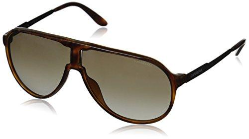 Carrera Unisex-Erwachsene NEW CHAMPION HA 8F8 Sonnenbrille, Schwarz (Dkhvn Shyblk/Brown Sf), 62