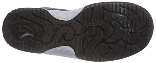 Abeba noir s2 chaussures uni6, mocassins femme Noir