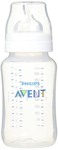 Philips Avent SCF566/17 Anti-Kolik Klassik+ Flasche 330 ml, 1er-Pack, transparent