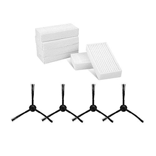 reyee Ersatz Filter Pinsel Pack Kit ilife V3S Pro V5S Pro Robotic Vacuum - Cleaner Filter Paket