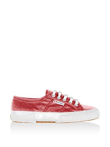 Superga 2750 Lamew, Sneaker a Collo Basso Unisex – Adulto Rosso (Red)