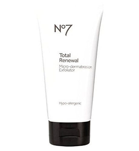No7 Total Renewal Micro-Dermabrasion Face Exfoliator by No7