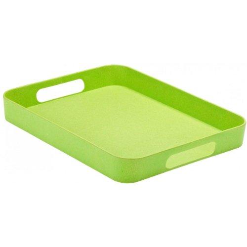 Magu 130 028 Tablett 40 x 30 cm Natur Design, grün gebraucht kaufen  Wird an jeden Ort in Deutschland