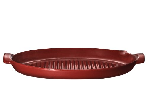 Emile Henry EH617544 Fish Grill, Rosso