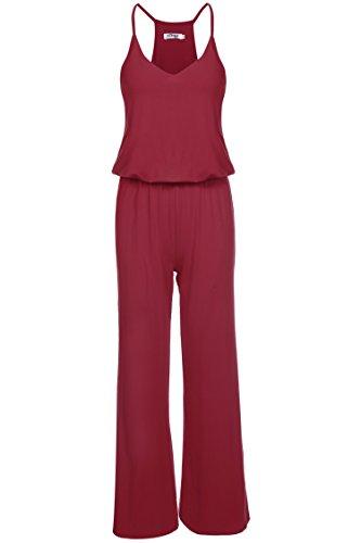 ETC KART - Combinaison - Femme rouge vin