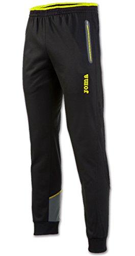 Joma - Pantalon Largo Elite v Negro-Antracita Hombre