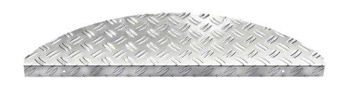 FS Stufenmatte Set aus hochwertigem Aluminium für Innen- und Aussentreppen. 17.5 x 60 cm. 15 Stuck pro Set.