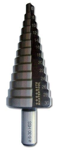 STB-MASTERTOOL - Broca escalonada (acero ultrarrápido, 6-30 mm)