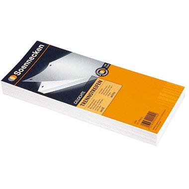 SOE Trennstreifen 01590 weiß 10,5x24cm Pa=100St