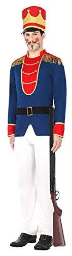 ATOSA 30688 - Nussknacker, Herrenkostüm, Größe XL, 54/56 (Nussknacker Kostüm Für Erwachsene)