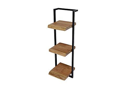 SalesFever Einzigartiges Design aus Akazienholz und Stahl