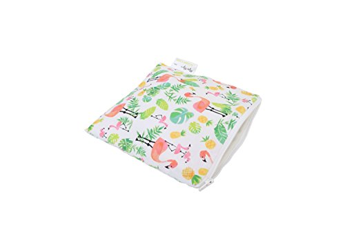 itzy-ritzy-snack-happens-reusable-snack-and-everything-bag-flamingo-flock
