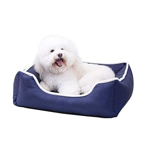 JISHUREN Cama para Mascotas Impermeable Engrosamiento de la Cama para Mascotas extraíble Lavable Cama...