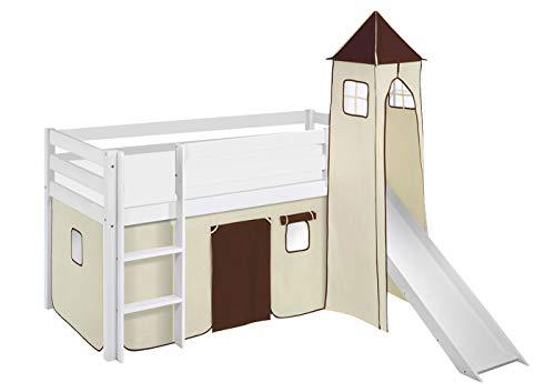 véritable coût modéré qualité parfaite Rideau 90x200 cm blanc