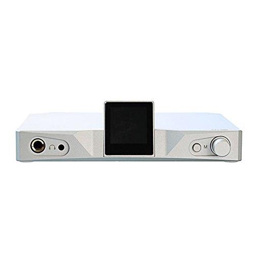 SMSL M9 32bit / 768kHz DSD512 AK4490x2 XMOS HiFi Audio DAC Digital Analog Wandler, Balance Kopfhörerverstärker mit Optischem Koaxialem USB-Eingang
