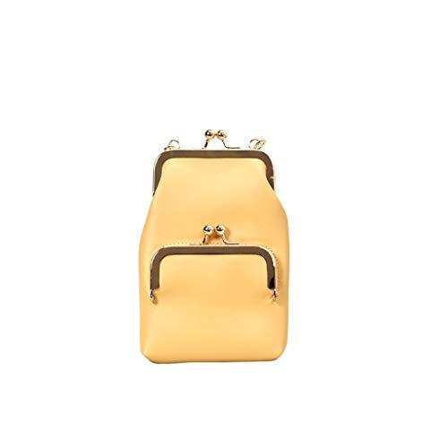 XZDCDJ Crossbody Tasche Damen UmhängeTaschen Daypacks Damenmode Lock Slant Bag Single Schultertasche Geldbörse Messenger Bag -