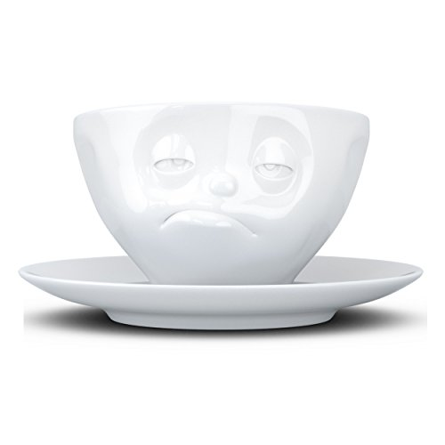Fiftyeight Products T014501 Tasse, Porcelaine, weiß, 12 x 10 x 10 cm