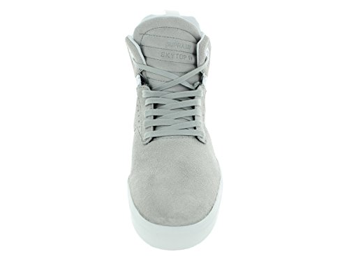 Supra SKYTOP IV Herren Hohe Sneakers Light grey - off white