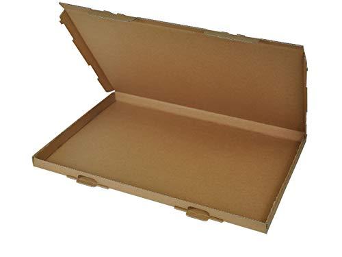100 Großbrief Kartons 350x250x20 mm   Briefkarton DIN A4 geeignet für Warensendung mit DHL, Hermes, DPD und GLS   wählbar 25-1000 Stk.