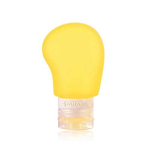 Royalr 38ml / 60ml / 90ml Shampoo cosmetico Silicone flaconi a contagocce Bottiglia Dispenser Portatile per la Corsa