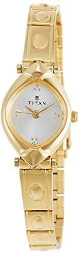 Titan Karishma Analog Silver Dial Women's Watch - NE2417YM01