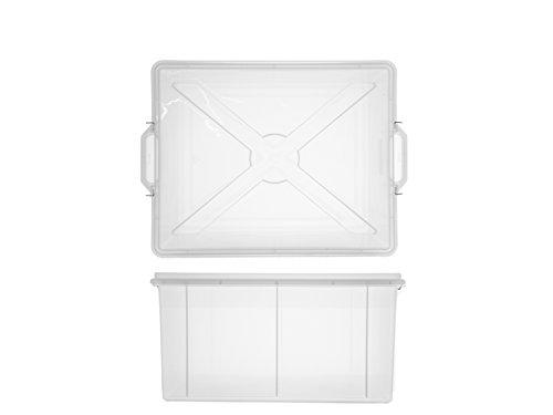 Giganplast 6440-Box mit Deckel, Polypropylen, 55x 40x 26cm