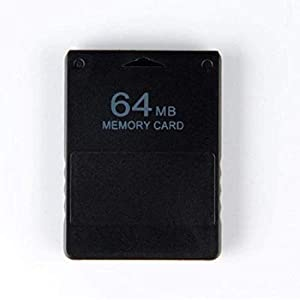 WiCareYo Black 64MB Memory Card Module for PS2