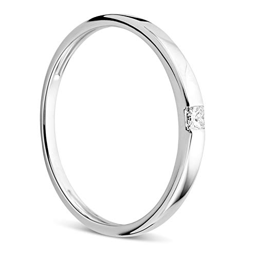 Orovi Mujer 18 k (750) oro blanco 18 quilates (750) GH Diamond