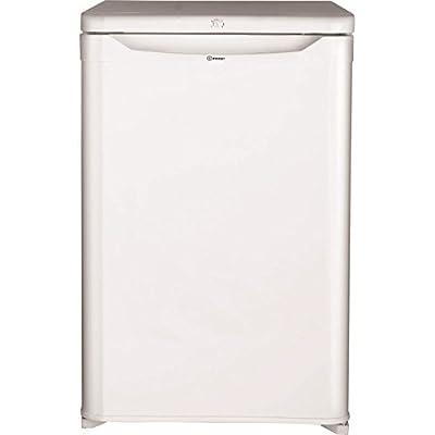 Indesit TFAA10 Upright Freestanding Fridge with Ice Box - White